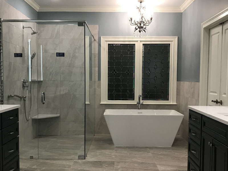 pros and cons about a walk in shower