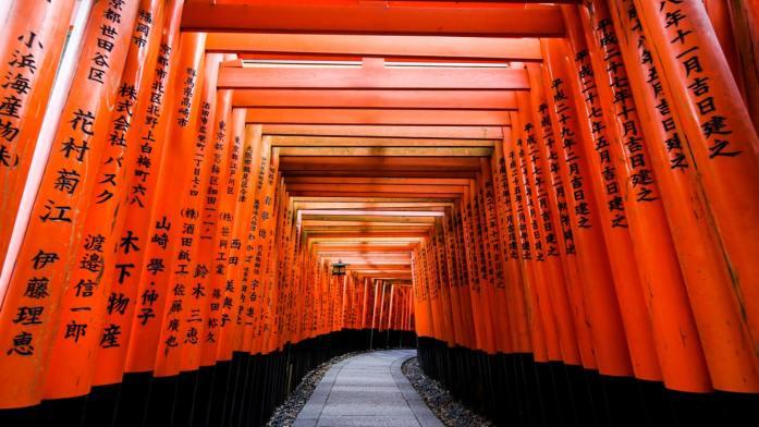 Ryoanji Temple Tori