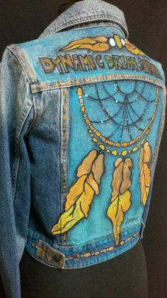 NORMAL BORING JAKET JEANS PAINTING KEREN  All About