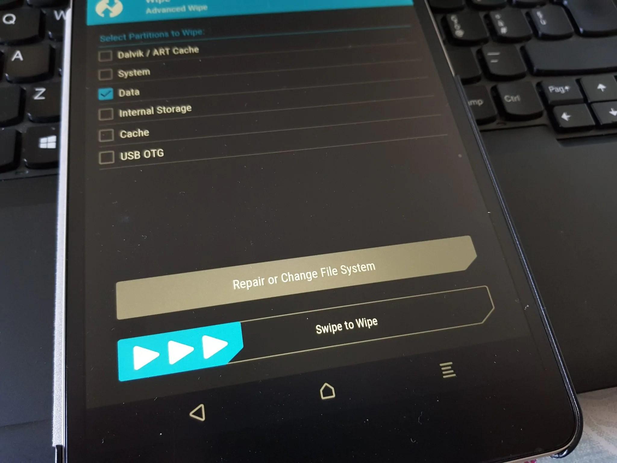 Xiaomi Mi Pad 3: cambiare il firmware per ottenere la lingua italiana 21