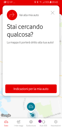 V-Auto by Vodafone: la porta OBD comunica con lo smartphone 5