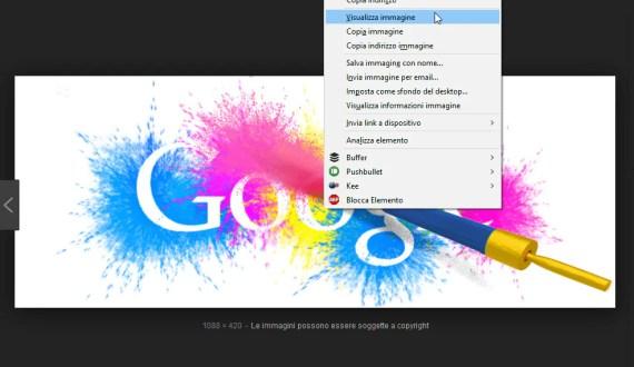"""Google Immagini: riottenere il pulsante """"Visualizza immagine"""" 2"""