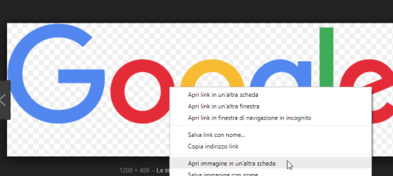 """Google Immagini: riottenere il pulsante """"Visualizza immagine"""" 3"""