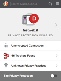 Un'occhiata a DuckDuckGo Privacy Essentials 6