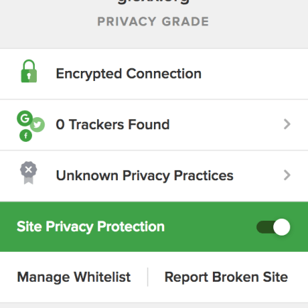 Un'occhiata a DuckDuckGo Privacy Essentials 1