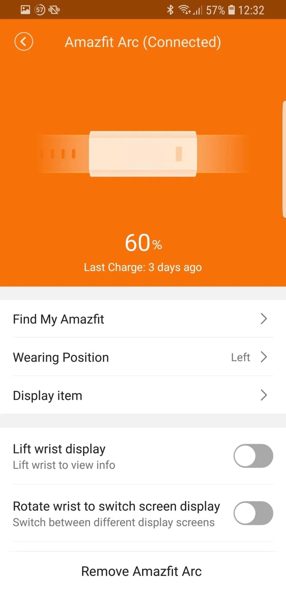 Amazfit Arc, l'eleganza che manca al Mi Band 2 11