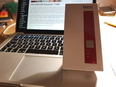 AVM FRITZ!WLAN Repeater 1750E: estendi la tua rete WiFi su più livelli 1