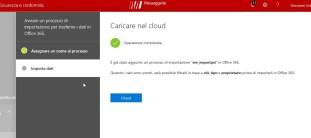 Office 365: importazione PST da disco locale a Exchange Online 5