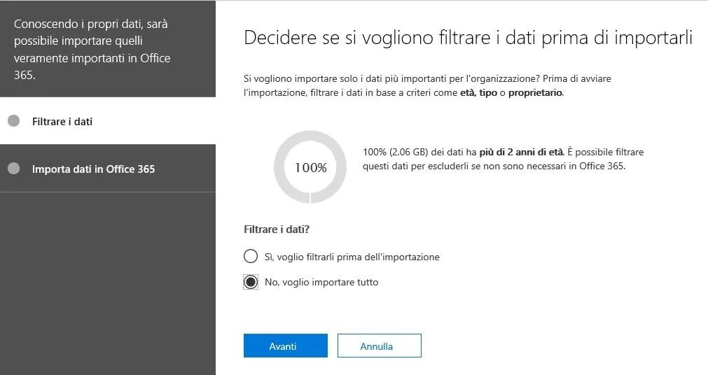 Office 365: importazione PST da disco locale a Exchange Online 7
