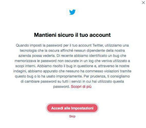 La settimana di: Password Day e log in chiaro di Twitter