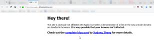Firefox e Punycode: occhio ai tentativi di phishing 1