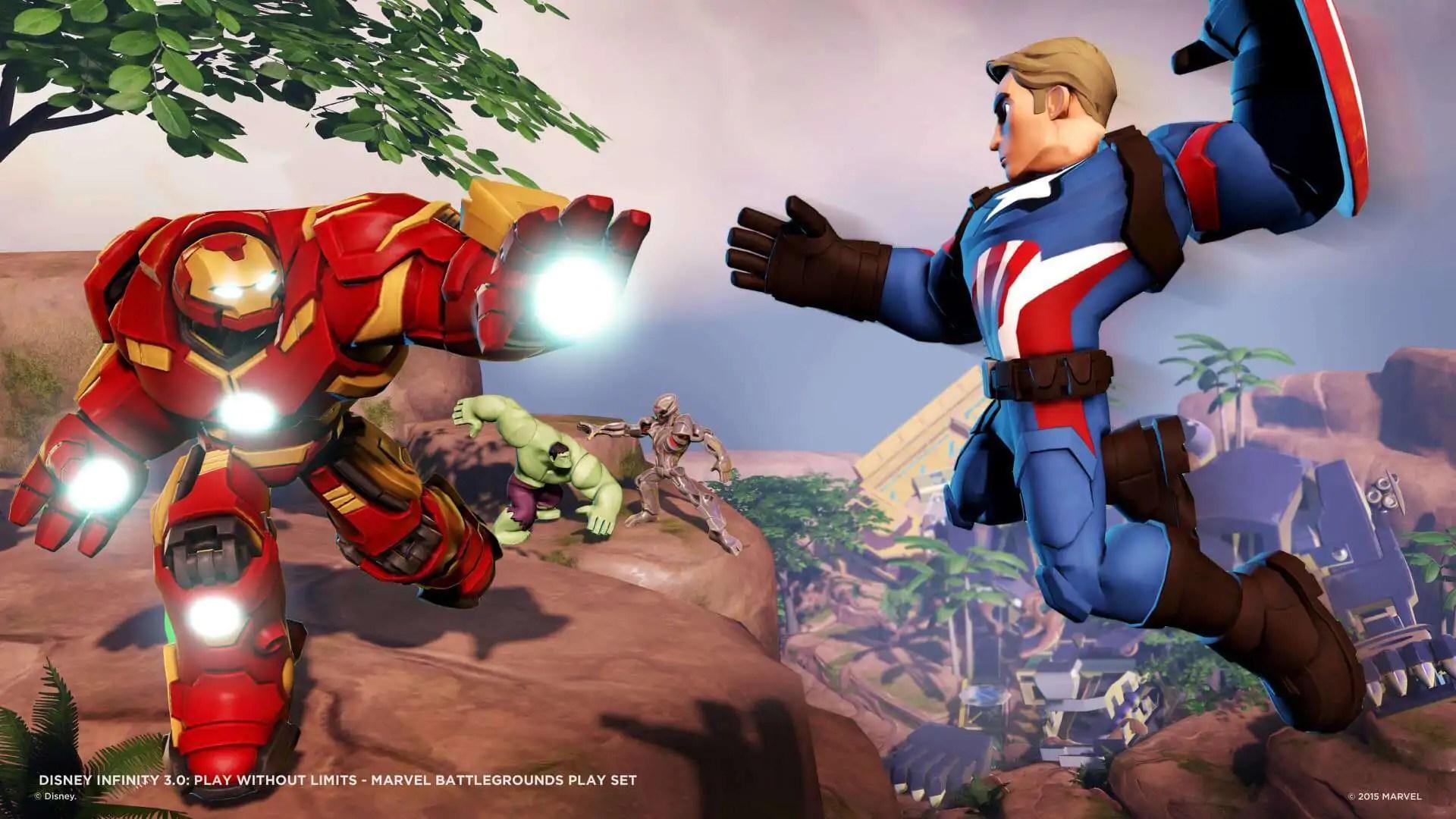 Marvel Battlegrounds: botte da orbi su Disney Infinity 3.0 22