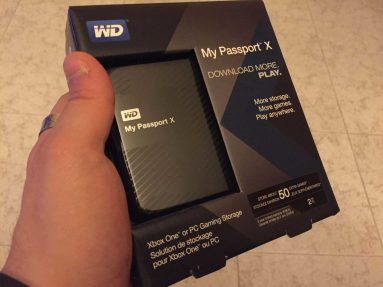 Western Digital My Passport X per Xbox One 6