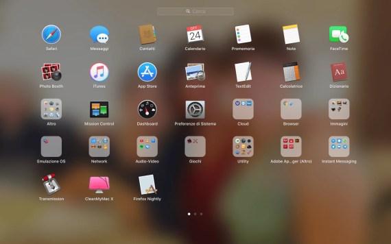 macOS: modificare facilmente l'aspetto del Launchpad 2