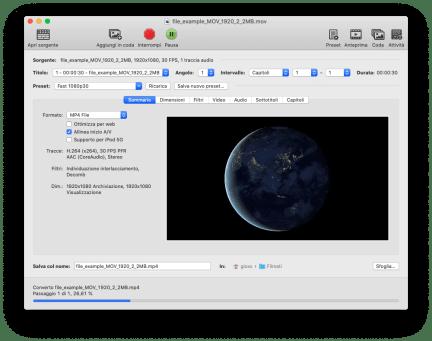 FFmpeg: conversione rapida da MOV a Mp4 (e qualche alternativa) 1