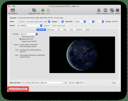 FFmpeg: conversione rapida da MOV a Mp4 (e qualche alternativa) 2