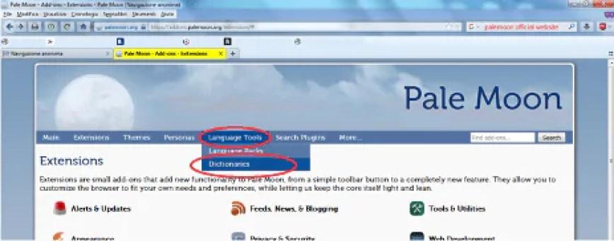 Le estensioni legacy di Firefox non funzionano più su Pale Moon, come rimediare? 12