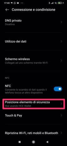 Xiaomi Mi 9: risolvere il problema dei pagamenti NFC che vanno in errore 4