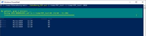 PSDataReorg: riorganizzare file PDF in base alla data riportata al loro interno 3
