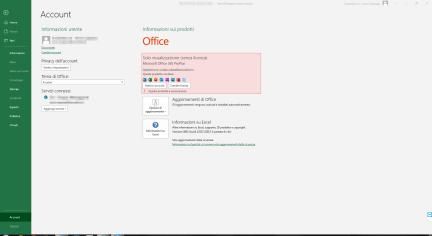 Microsoft 365 Apps (Office): mancata attivazione su Windows 7 1