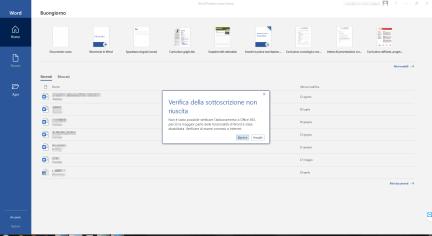 Microsoft 365 Apps (Office): mancata attivazione su Windows 7 2