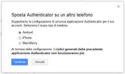 """""""2-step di Sicurezza"""": Migrazione da Google Authenticator ad Authy 2"""