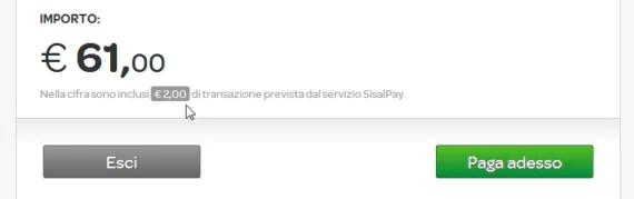 SisalPay_2euroServizio