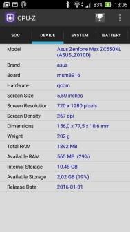 ASUS ZenFone Max (ZC550KL) 20