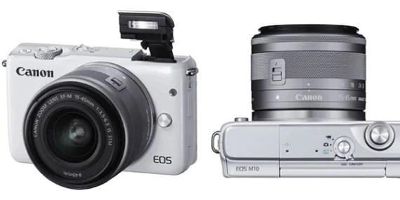 Canon EOS M10: un'occhiata al mirrorless