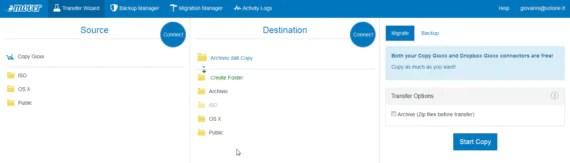 Copy è morto. Migrazione dati in cloud (da Copy a Dropbox) 2