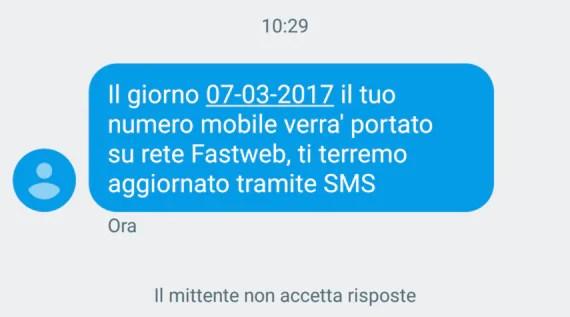 Cronache di una MNP: passaggio a Fastweb (da TIM) 2