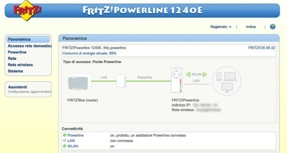 FRITZ!Powerline 1240E WLAN Set 1