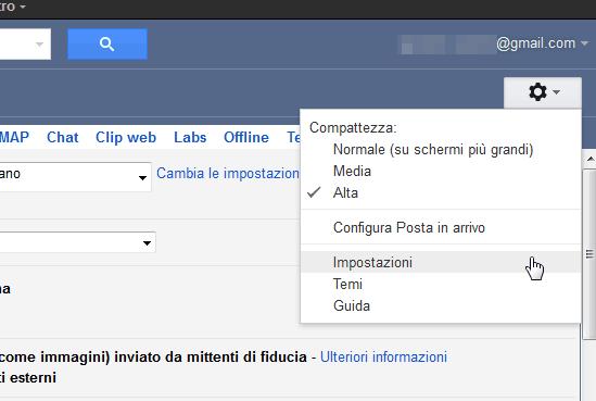gmail-Impostazioni