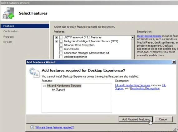 Installare l'utility di Pulizia Disco su Windows 2008 Server 3