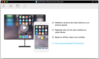 iPhone Screen Recorder di AceThinker 1