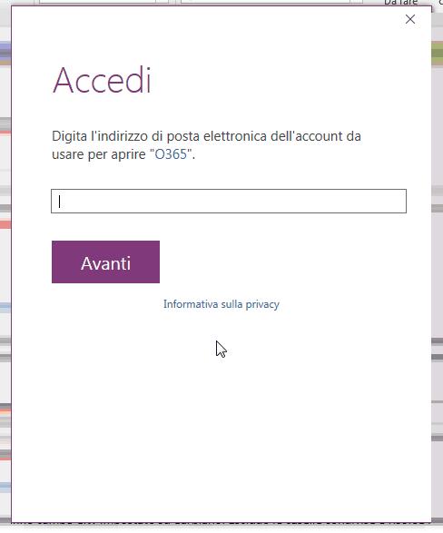 Office 365: continue richieste di login da OneNote (e non solo)
