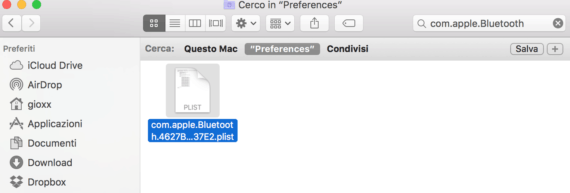 OS X: risolvere i problemi di disconnessione bluetooth 2