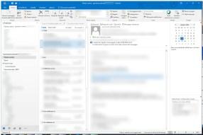 Outlook: comandi contestuali mail fuori posto? Touch Mode