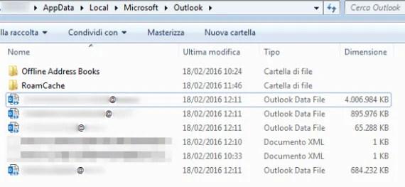 Outlook e Shared Mailbox: Auto-Mapping o più file dati?