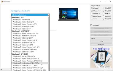 Reinstallare Windows OEM quando il supporto di Recovery non c'è 2