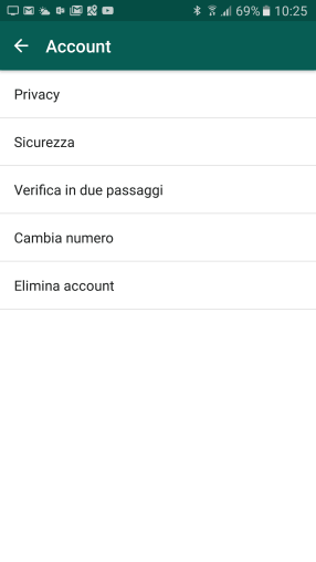 Sicurezza: la 2-step verification di WhatsApp 1