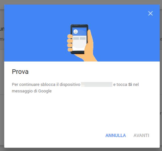 Sicurezza: la nuova 2-step verification di Google 3