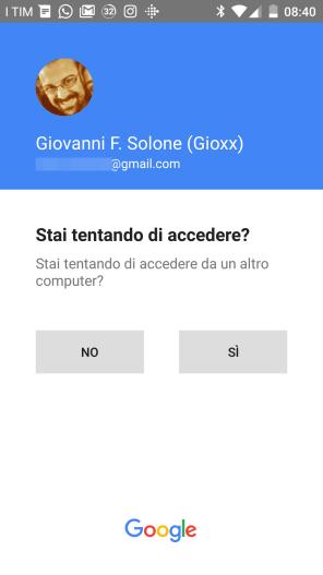 Sicurezza: la nuova 2-step verification di Google 4