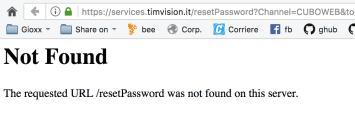 """TIMvision e i reset password """"a vuoto"""" 1"""