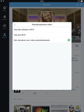 Twitter: bloccare l'avvio automatico di GIF e filmati (da web & app) 2