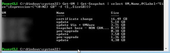 vCenter 6: gestione snapshot