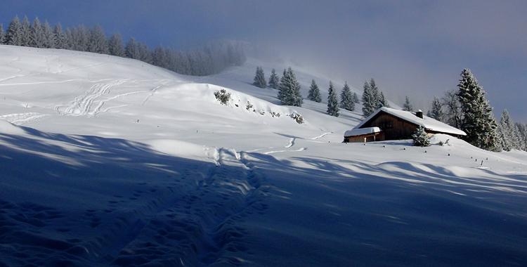 Skitour auf das Feichteck: Bayerischer Vorhimmel