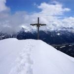 Gipfelkreuz Hochplatte © Gipfelfieber.com