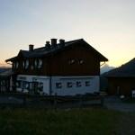 Die Erichhütte im Abendrot © Gipfelfieber.com