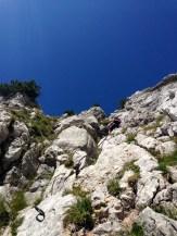 Es ist tatsächlich weniger steil als es aussieht © Gipfelfieber.com